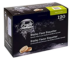 Bradley Smoker Btap120 Apple Bisquettes 120 Pack