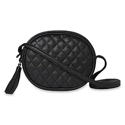 Womens Crossbody Camera Bag Black