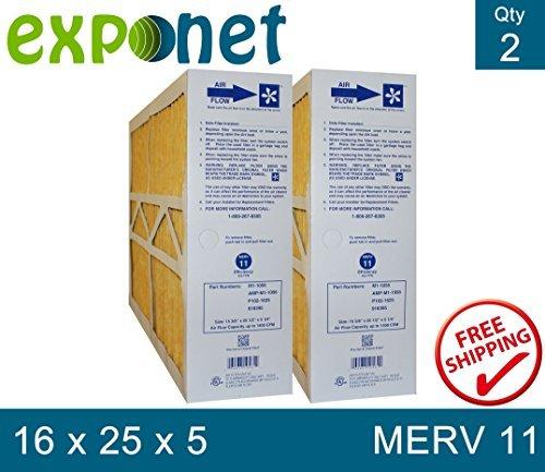 goodman air filter 16x25x5 - 2