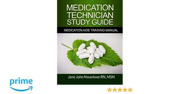 Medication Technician Study Guide Medication Aide Training