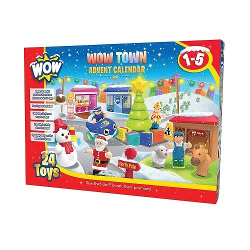 WOW Toys Town Advent Calendar Kids Age 1-5 Toy