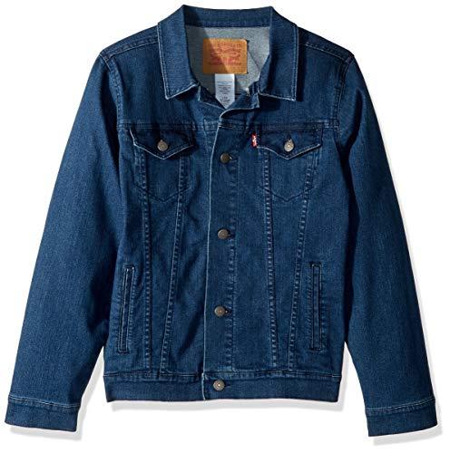 - Levi's Boys' Toddler Denim Trucker Jacket, Two Tone, 3T