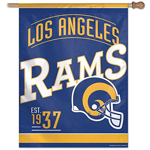 Los Angeles Rams Banner 27x37 Retro by WinCraft