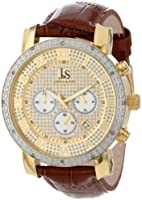 Joshua & Sons Men's JS-28-03 Diamond Chronograph Quartz Watch