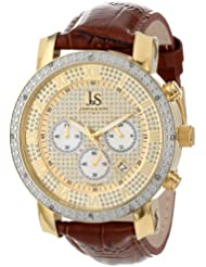 Joshua & Sons Mens JS-28-03 Diamond Chronograph Quartz Watch