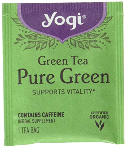 - Yogi Organic Simply Green Tea, 16 ct