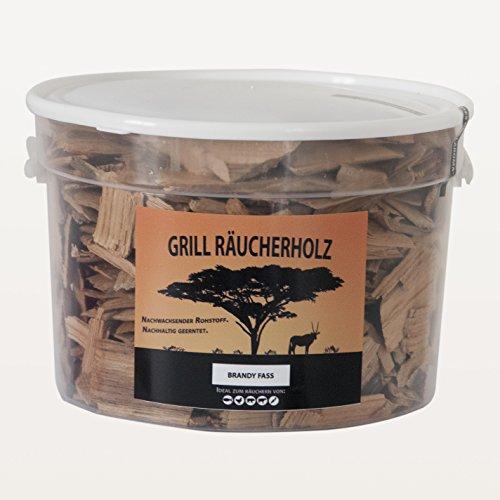 Grill Räucherholz Brandy Fass