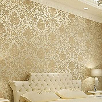 Buy Generic Classical Wallpaper Roll For Living Room Bedroom Tv - wallpaper designs for walls price in india