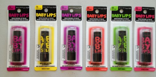 Maybelline Baby Lip Balm Shades - 3