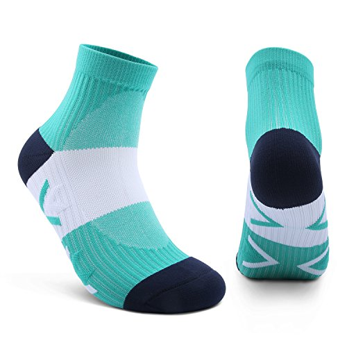AIKER Athletic Socks Cushion Performance Mens Compression Socks, Best for Running, Soccer, Football, Flight Travel