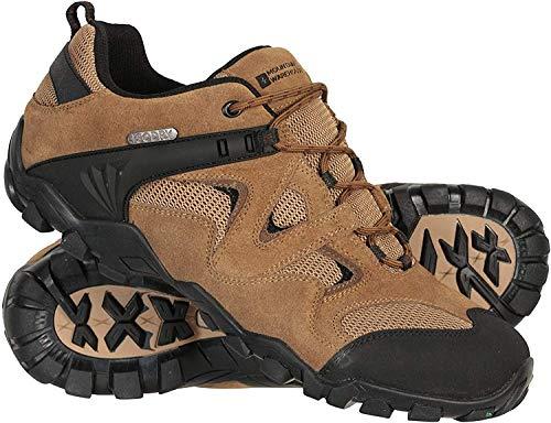 Mountain Warehouse Chaussures de Marche imperméables Curlews pour Homme - Bottes en Daim et Maille à séchage Rapide… 2