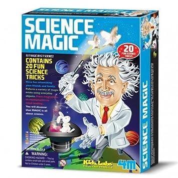 Juego Educativo 4m Ciencia Magica Con 20 Trucos Para Descubrir La