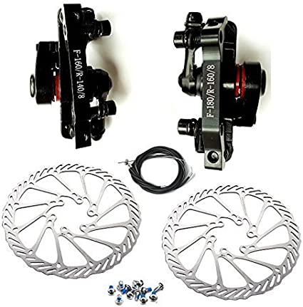 BB8 Mountain Mechanical Pulling Disc Brake Front Rear Caliper Kit Bicycle Tools