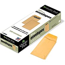 Quality Park Coin/Small Parts Envelopes, #3, Brown Kraft, 2.5 x 4.25-Inches, Box of 500 (50262)