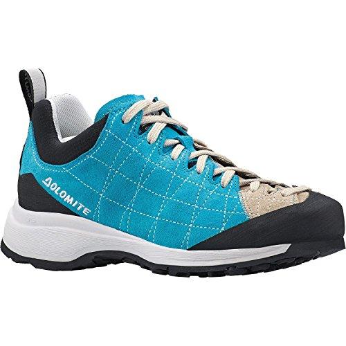 DOLOMITE - Zapatillas de nordic walking de Piel para mujer Azul TURCHESE/SABBIA 36
