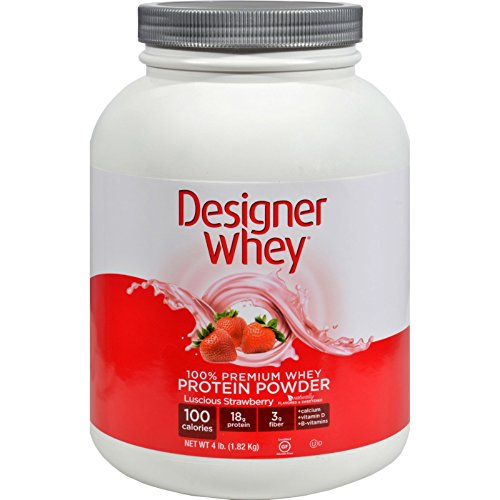 4.4 Lb Strawberry (Designer Whey Protein - Strawberry - 4.4)
