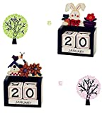 Labu Store Home Decorative Desk Calendar, Four