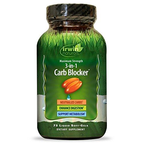Irwin Naturals Maximum Strength Phase II Carb Blocker 75 capsules