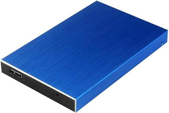 モバイルハードディスク、500ギガバイト/ 1TB / 2TB大容量メモリ、モバイル高速伝送USB3.0モバイルハードディスクMEMOR (Color : Blue, Size : 500GB)
