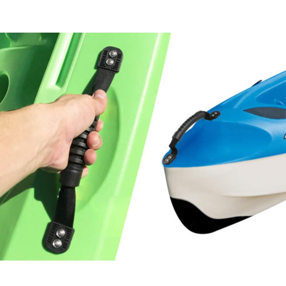 Meiyiu Rubber Boat Handle Luggage Side Mount Carry Handles for Kayak Canoe Boat,2pcs//Set