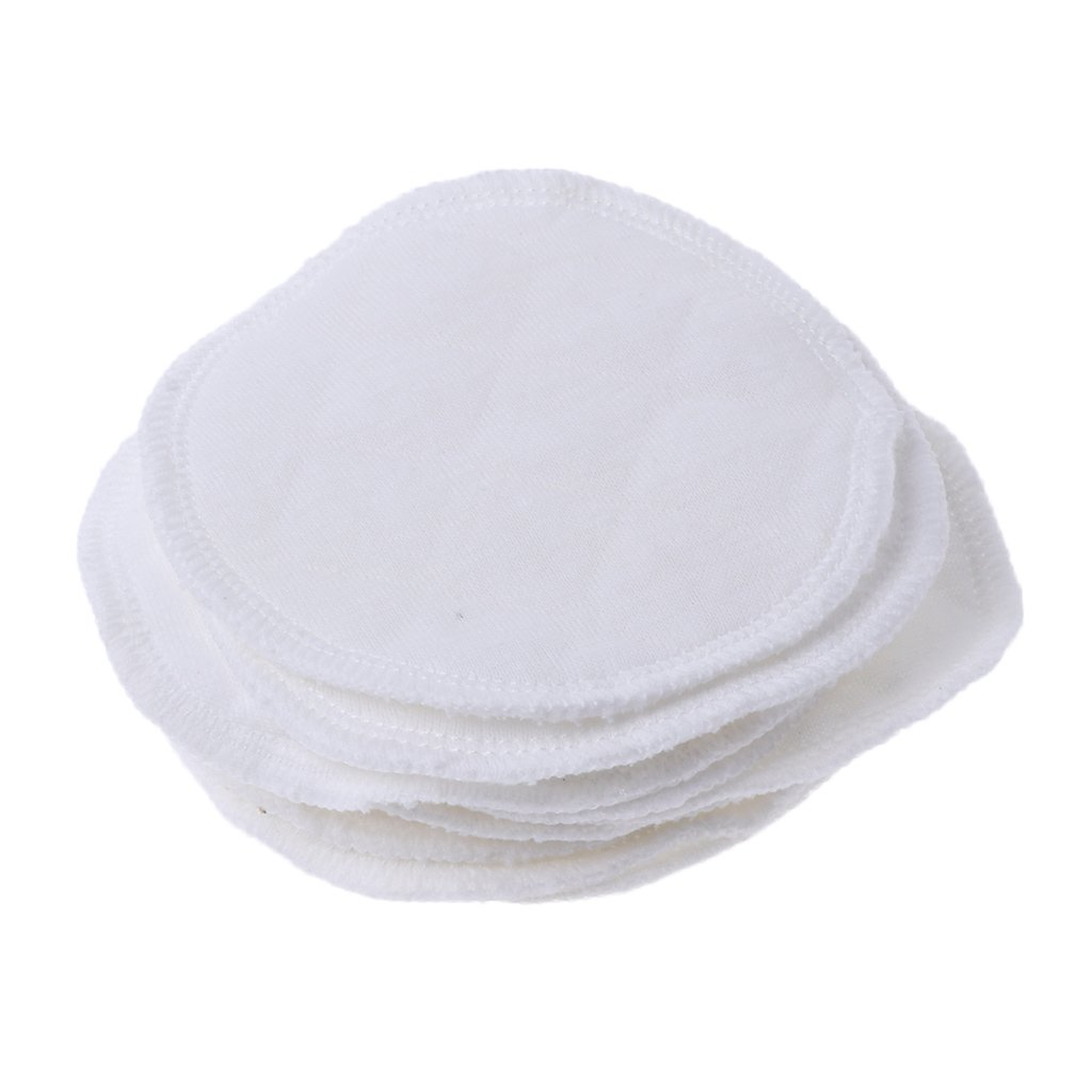 Tandou 10Pcs Ré utilisable maman Coussin d'allaitement Poitrine d'allaitement lavable Fournitures d'allaitement soutien-gorge