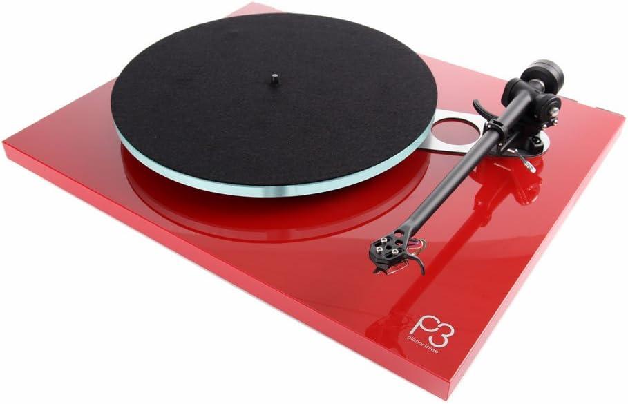 【国内正規品 】rega Planar 3アナログプレイヤー 50Hz 専用モデル レッド Planar 3-Red with Elys 2 50Hz