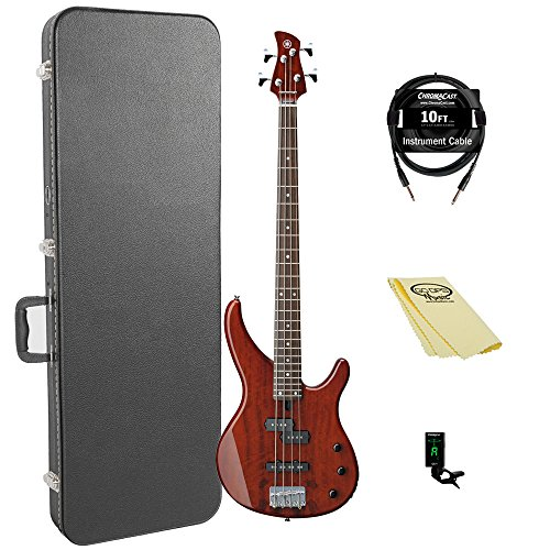 Yamaha TRBX174EW RTB 4-String Bass Guitar Pack, used for sale  Delivered anywhere in USA