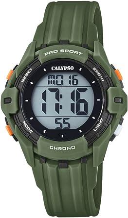 Calypso Reloj Digital para Hombre de Cuarzo con Correa en Plástico K5740/5