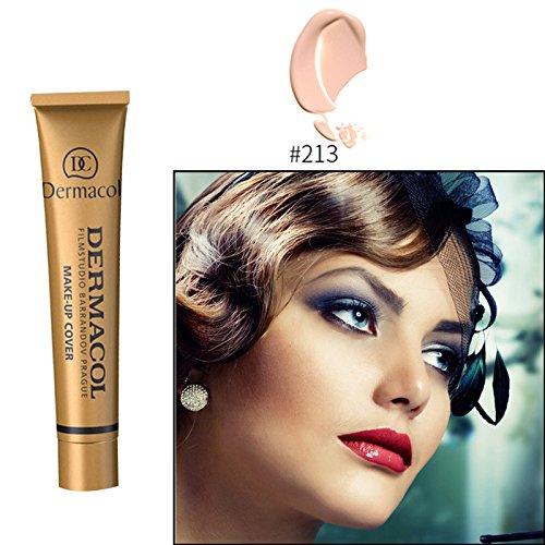 #213 Dermacol base primer corrector concealer cream makeup base tatoo consealer face foundation contour palette 30g 100% Original