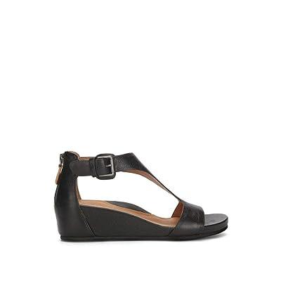 Gentle Souls Women's Gisele T-Strap Wedge Sandal | Platforms & Wedges