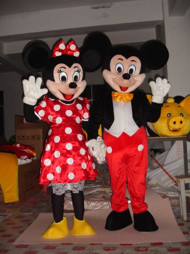 Mickey-Minnie Mascot Costumes