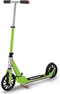 Skin Compatible with Razor A5 Prime Scooter - Solid Lime Green   MightySkins Protective, Durable, and Unique Vinyl Decal wrap Cover   Easy to Apply, Remove, and Change Styles   Made in The USA