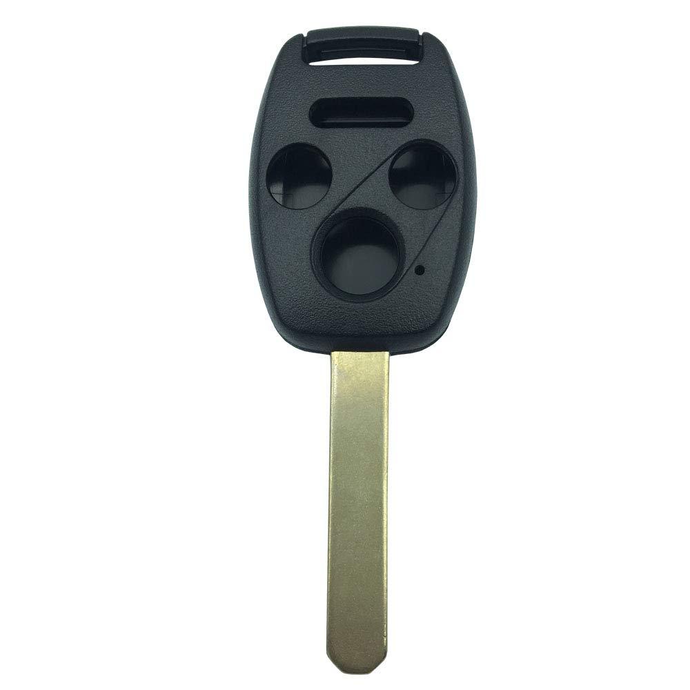 Keyless Entry Remote Key Fob Case Shell fits Honda 2005-2006 CR-V//Honda 2003-2007 Accord