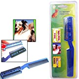 Pet Dog Cat Hair Trimmer With Comb + 2 Razor Cutting Grooming Cut Care PET SUPPLY