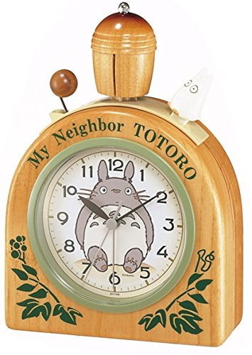 Citizen Neighbor Totoro Rhythm Clock 4RA455MN06 product image