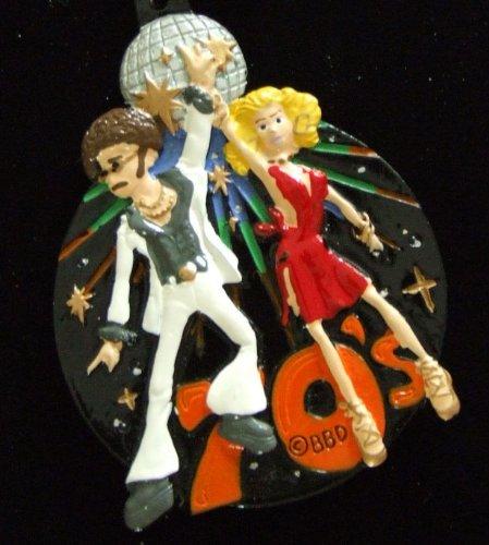 Mardi Gras Bead Necklace 70's Disco Saturday Night Fever Party -