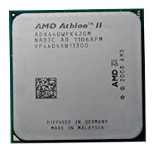 AMD Athlon II X4 640 3.0GHz 2MB Quad-core CPU Processor Socket AM2+ AM3 938-pin 95W with Thermal Paste Bundle