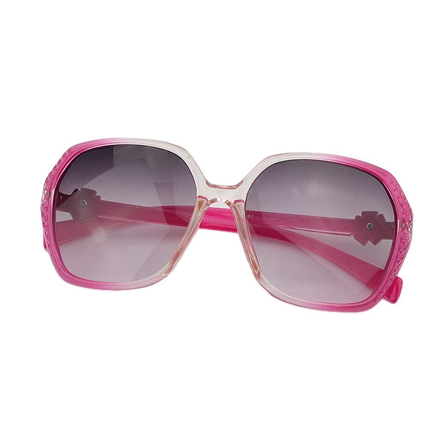 Feelontop@ Resin Hotpink Leopard Floral Acetate Frames Sunglasses with Free Glasses Boxes