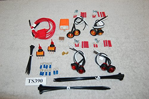 VLK SXS/UTV UNIVERSAL TURN-SIGNAL & LED LIGHT KIT TS390