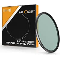 67mm polarizing filter, K&F Concept 67MM Circular Polarizer Filter HD 20 Layer Super Slim Multi-Coated CPL Lens Filter