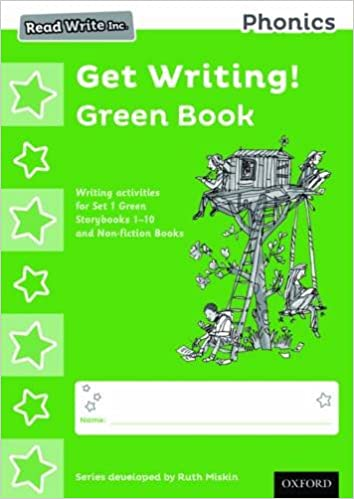 Read Write Inc. Phonics: Get Writing! Green Book Pack of 10