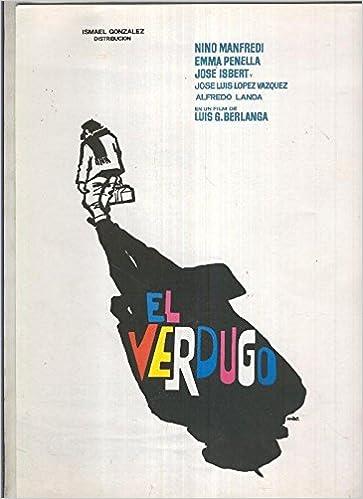 Caratula cine: El verdugo de Berlanga con Jose Isbert ...