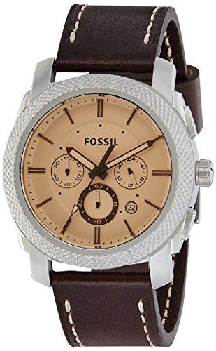 Fossil-Mens-FS5170-Machine-Chronograph-Dark-Brown-Leather-Watch