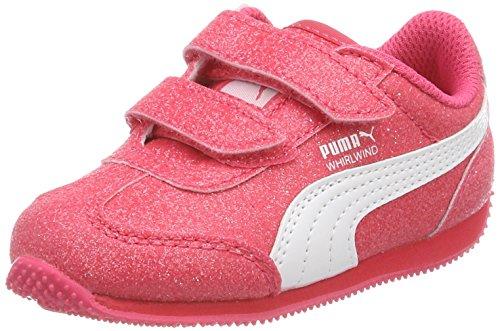 Inf V Zapatillas Pink Whirlwind puma Para Puma paradise Niñas White Glitz Rosa xw1Et