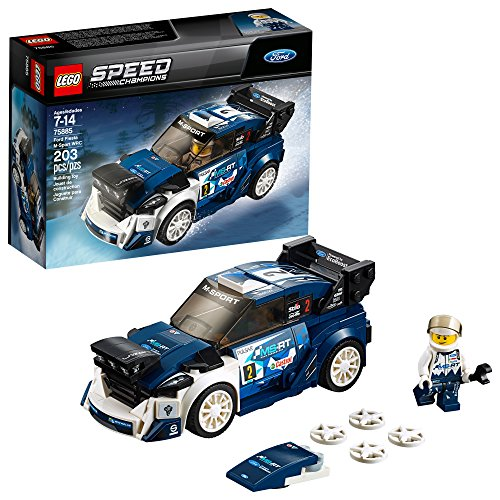 Rally Sports Car - LEGO Speed Champions Ford Fiesta M-Sport WRC 75885 Building Kit (203 Piece)