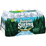 POLAND SPRING 100% Natural Spring Water, 16.9 Oz (Pack of 48)