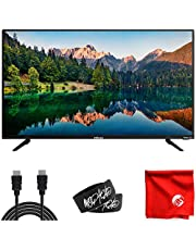InFocus Classic Series 45-Inch Roku Smart LED 1080p Full HD TV (IN-45FA40PR) HDMI, USB, Dolby Digital, Dual Band Wi-Fi Bundle with Circuit City 6-Foot HDMI Cable, Microfiber Cloth and 2X Cable Ties