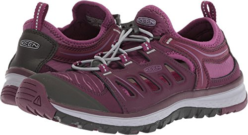 KEEN Women's Terradora Ethos-W Hiking Shoe, Grape Wine/Grape Kiss, 10 M US by KEEN