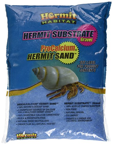 - Hermit Habitat Terrarium Sand, 2-Pound, Blue