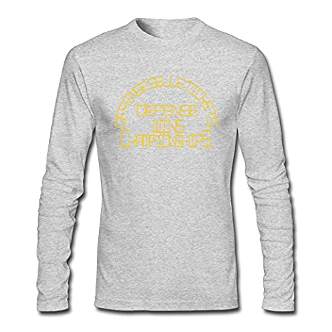 Custom Gray Adult O-Neck Man Offense Sells Tickets Sports Long Sleeves T Shirt Size XXL - Hottest Ticket